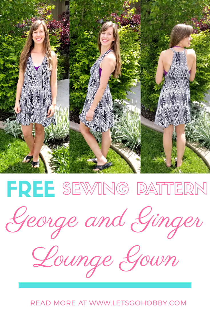 George and Ginger Lounge Gown