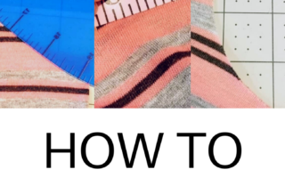 How to lower a neckline