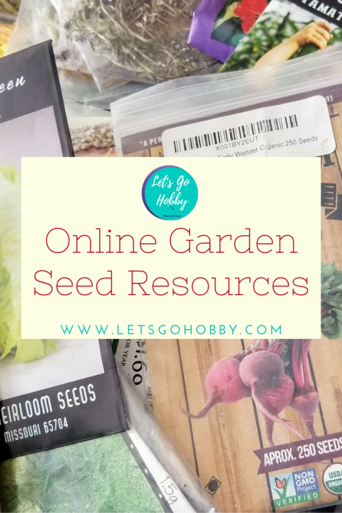 Where to find flower and vegetable seeds online