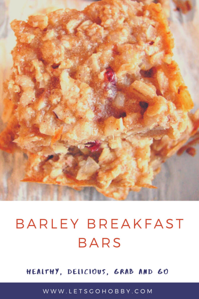 Barley Breakfast Bars