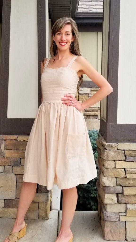 classic dress sewing pattern