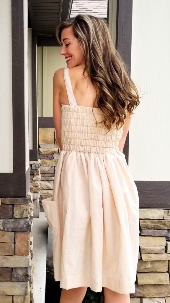 awesome woven dress for summer