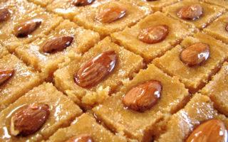 lebanese dessert recipe, semolina cakes