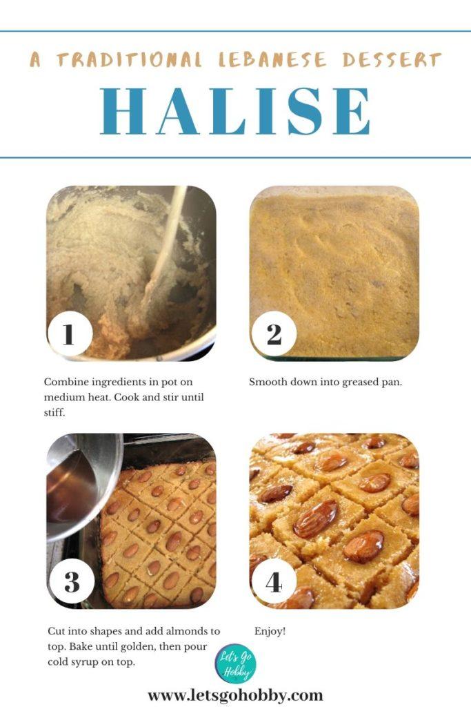 semolina based Mediterranean dessert